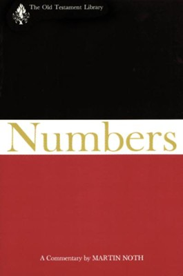 Numbers: Old Testament Library [OTL] (Hardcover)   -     By: Martin Noth