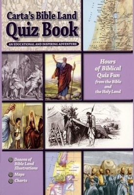 Carta's Bible Land Quiz Book  -     By: Michael Osterman