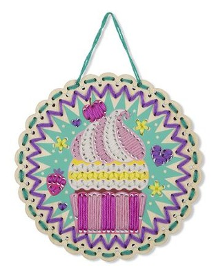 Embroidery Made Easy, Cute Cupcake  -