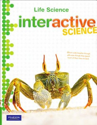 Interactive Science: Life Science Student Workbook (Grades 6-8)  -