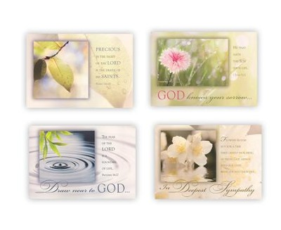 Tranquility, Sympathy Cards, Box of 12  -