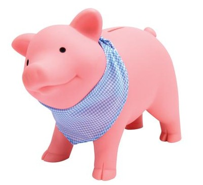 Rubber Piggy Bank  -