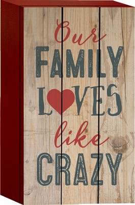 Our Family Loves Like Crazy, Box Art  -