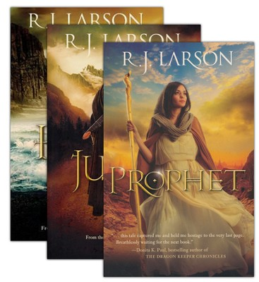 Books of the Infinite, Volumes 1-3  -     By: R.J. Larson