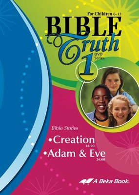 Abeka Bible Truth DVD #1: Creation, Adam & Eve   -