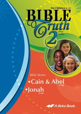 Abeka Bible Truth DVD #2: Cain & Abel, Jonah   -