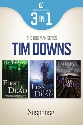 Bug Man Suspense 3-in-1 Bundle - eBook  -     By: Tim Downs