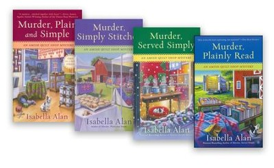 Amish Quilt Shop Mystery Series, Volumes 1-4  -     By: Isabella Alan
