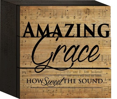 Amazing Grace, How Sweet the Sound, Box Art  -