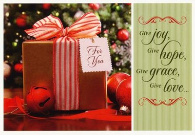 Pretty Packages Christmas Cards, Box of 12  -