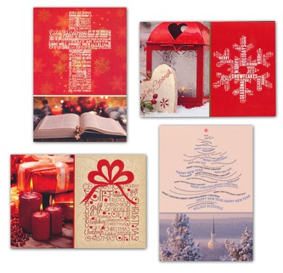 Comfort and Joy Christmas Cards, Box of 12  -