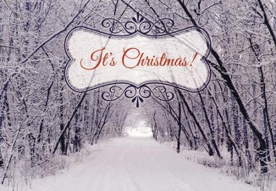Frosty Landscapes Christmas Cards, Box of 12  -