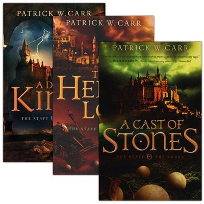 The Staff and the Sword Series, Volumes 1-3  -     By: Patrick W. Carr
