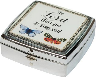 The Lord Bless You And Keep You Pill Box  -