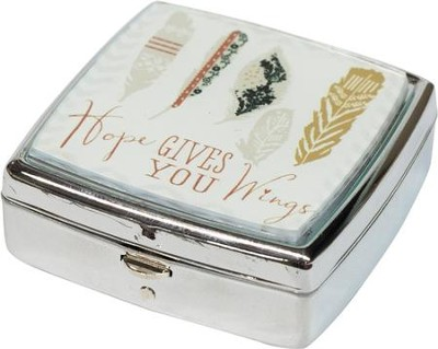 Hope Gives You Wings Mint/Pill Box  -