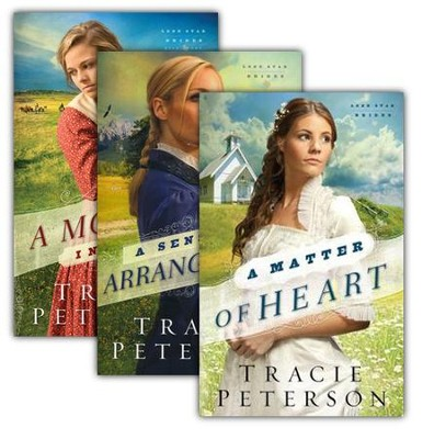 Lone Star Brides Series, Vols. 1-3   -     By: Tracie Peterson
