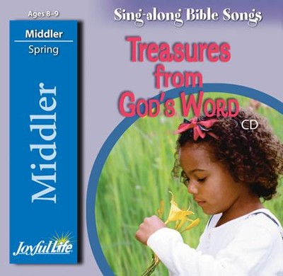 Treasures from God's Word Middler (Grades 3-4) Audio CD   -