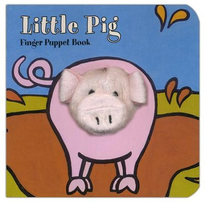 Little Pig Finger Puppet Book  -     By: Image Books