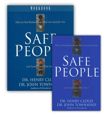 Safe People Book & Workbook Set   -     By: Dr. Henry Cloud, Dr. John Townsend