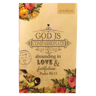 God Is Compassionate--Flexible Cover Journal   -