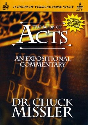 The Book of Acts - An Expositional Commentary on DVD with CD-ROM  -     By: Chuck Missler