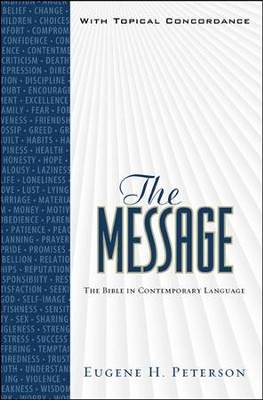 The Message, Numbered Edition, Personal Size, with Topical Concordance  -     By: Eugene H. Peterson