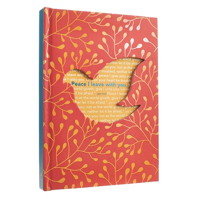 Peace, Bird Die-Cut Journal  -