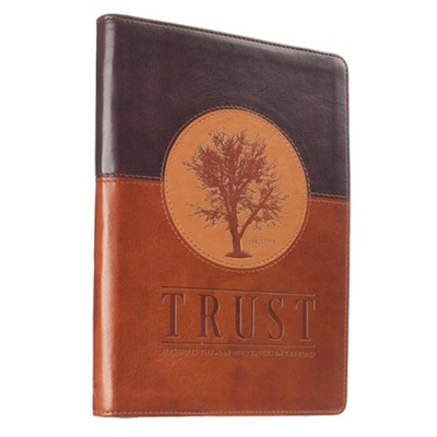 Trust, Zippered Journal  -