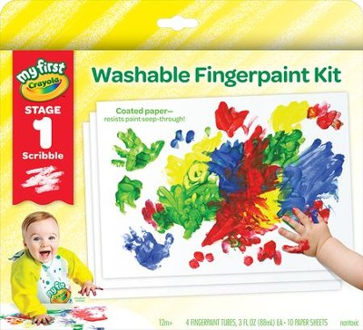 Crayola, My First Crayola Fingerpaint Kit  -