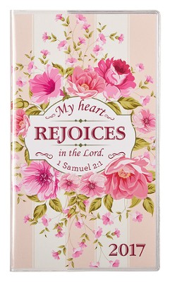 2017 My Heart Rejoices Daily Planner, Small   -