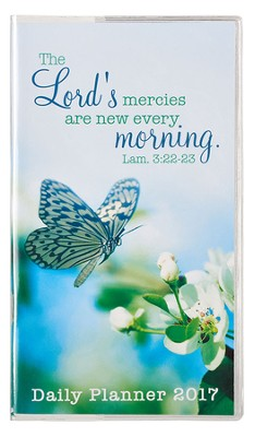 2017 The Lord's Mercies Daily Planner, Small  -