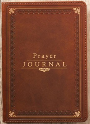 Prayer Journal with Scripture , LuxLeather  -
