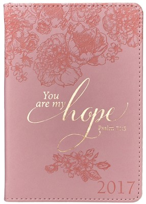 2017 You Are My Hope Daily Planner, LuxLeather, Small  -