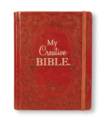 KJV My Creative Bible, Brown Ornate LuxLeather  -
