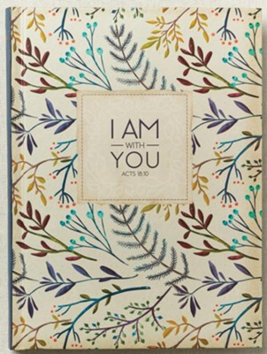 I Am with You Journal, Large  -