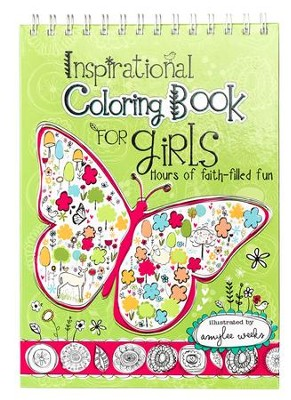 Inspirational Coloring Book for Girls  -
