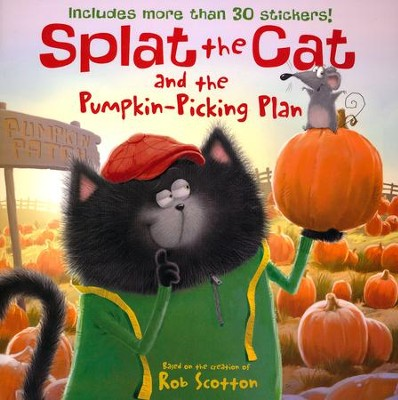 Splat the Cat and the Pumpkin-Picking Plan  -