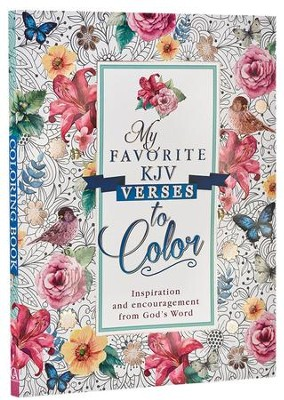 Coloring Book My Favorite KJV Verses  -     By: Christian Art Publishers