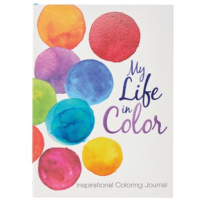 My Life in Color, Coloring Journal  -