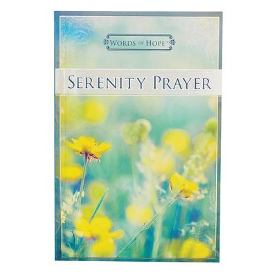 Words of Hope, Serenity Prayer Devotional  -