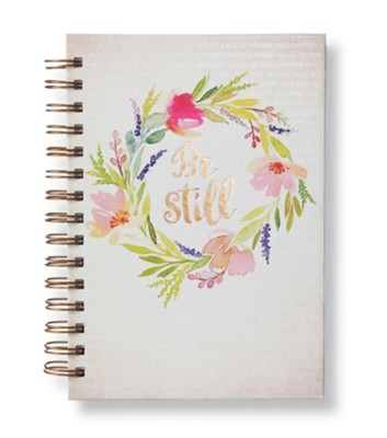 Be Still, Wirebound Journal  -