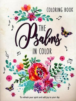 The Psalms in Color, Coloring Book   -