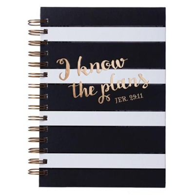 I Know the Plans, Wirebound Journal  -