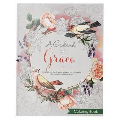 A Garland of Grace Coloring Book  -