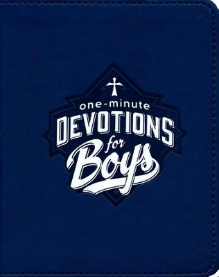 One-Minute Devotions for Boys, Imitation Leather   -