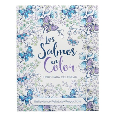 Libro para colorear Salmos en color  -