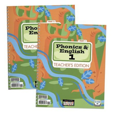 BJU Phonics & English 1 Teacher's Edition (Revised)    -
