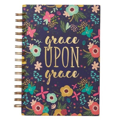 Grace Upon Grace Journal, Wirebound  -