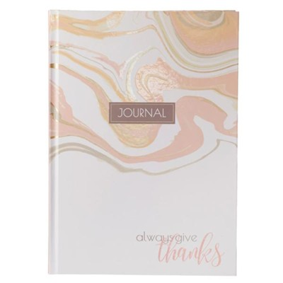 Give Thanks Journal, Hardcover  -