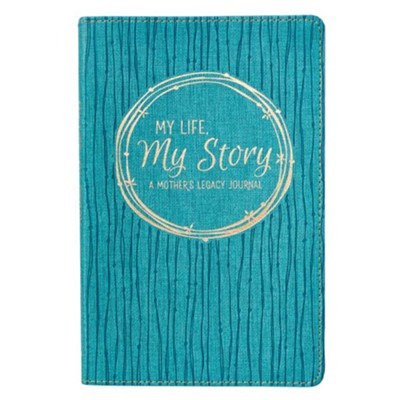 My Life, My Story, Legacy Journal, Lux Leather  -